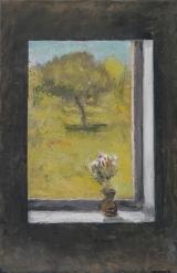 """<h5>Ouverture</h5><p>Oil on canvas, 39½"""" x 25½"""" (100 x 65cm)</p>"""