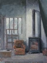 """<h5>L'atelier</h5><p>Oil on canvas, 51¼"""" x 38¼"""" (130 x 97cm)</p>"""