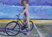 """<h5>Because the sky is blue</h5><p>Oil on canvas, 20"""" x 28"""" (50.8 x 71cm)</p>"""