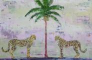 "<h5>Take me to Sicily </h5><p>Oil on canvas, 46"" x 70"" (116.8 x 177.8cm)</p>"