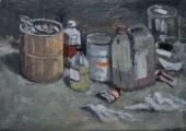 """<h5>Parterre d'atelier</h5><p>Oil on canvas, 28¾"""" x 36¼"""" (73 x 92cm)</p>"""