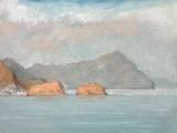 "<h5>La isleta del Moro II</h5><p>Oil on canvas, 38"" x 51"" (97 x 130cm)</p>"