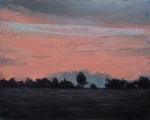 "<h5>Soir rose</h5><p>Oil on canvas, 28¾"" x 36¼"" (73 x 92cm)</p>"