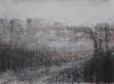 """<h5>St. Nicholas Terrace</h5><p>Watercolor on paper, 50"""" x 66"""" (127 x 168cm)</p>"""