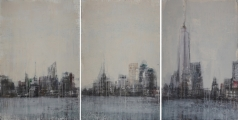 """<h5>From The Water (Triptych)</h5><p>Watercolor on paper, 3 at 60"""" x 40"""" (152.5 x 101.5cm)</p>"""