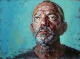 """<h5>Le réveil est dans le rêve …Autoportrait 1882</h5><p>Oil on Canvas, 38"""" x 51"""" (96.5 x 129.5cm)</p>"""
