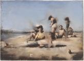 """<h5>Les ombres</h5><p>Pastel on paper, 22½"""" x 30¾"""" (57 x 78cm)</p>"""