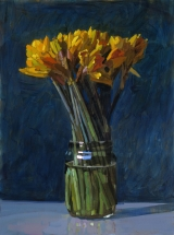 "<h5>Jonquilles</h5><p>Oil on Canvas, 51"" x 38"" (129.5 x 96.5cm)																																		</p>"