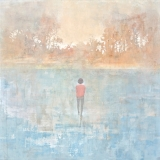 "<h5>Walking on Water</h5><p>Acrylic on canvas, 48"" x 48"" (122 x 122cm)																																																																																																																																																																																																																													</p>"
