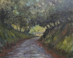 "<h5>Chemin Normand</h5><p>Oil on canvas, 28¾"" x 36¼"" (73 x 92cm)																																																																																																						</p>"