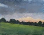 """<h5>Soir Champêtre</h5><p>Oil on canvas, 28¾"""" x 36¼"""" (73 x 92cm)</p>"""
