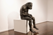 "<h5>Reading Minotaur (Giant)</h5><p>Bronze, 54½"" x 23"" x 30""(138.4 x 58.4 x 76.2cm)																																																																																																																																																																																																																																																																																																																																																																					</p>"