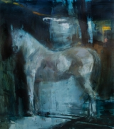 "<h5>Equus no. 10</h5><p>Oil on canvas, 60"" x 55"" (152 x 140cm)																																																																																																						</p>"