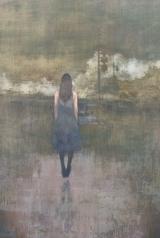 "<h5>No Distance</h5><p>Acrylic on canvas, 48"" x 30"" (122 x 76.25cm)</p>"