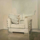 "<h5>Armchair</h5><p>Oil on canvas, 63"" x 63"" (160 x 160cm)																																																																																																						</p>"