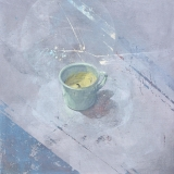 "<h5>Study of a Candle</h5><p>Acrylic on canvas, 24"" x 24"" (70 x 70cm)																																		</p>"