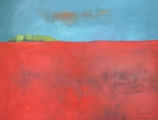 "<h5>Bloody Field</h5><p>Oil on canvas, 35"" x 45½"" (89 x 116cm)																	</p>"