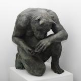 """<h5>Crouching Minotaur (Giant)</h5><p>Bronze, 35½"""" x 33½"""" x 31½"""" (90 x 85 x 80cm)</p>"""