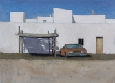 "<h5>Southern car</h5><p>Oil on canvas, 13"" x 18"" (33 x 46cm)																																																			</p>"