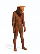"<h5>Giant Minotaur </h5><p>Bronze, 77"" x 22"" x 23"" (195.5 x 55.8 x 58.4cm)</p>"