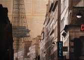 """<h5>Hotel Gustave </h5><p>Mixed media on canvas, 25½"""" x 36¼"""" (65 x 92cm)</p>"""