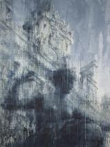 """<h5>Melodious, Paris II </h5><p>Watercolor on Arches paper, 69"""" x 52"""" (175.3 x 132cm)</p>"""