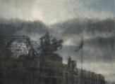 """<h5>Grand Palais</h5><p>Watercolor on Arches paper, 69"""" x 52"""" (132 x 175cm)</p>"""