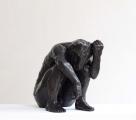 "<h5>Minotaur (Holding Horn) </h5><p>Bronze, 20"" x 20"" x 13¼"" (51 x 51 x 34cm)</p>"
