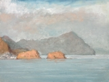 "<h5>La isleta del Moro II</h5><p>Oil on canvas, 38"" x 51"" (97 x 130cm)</p>"