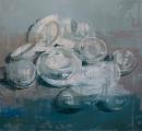 """<h5>Anniversary no. 13</h5><p>Oil on Canvas, 65"""" x 70"""" (165 x 178 cm)</p>"""