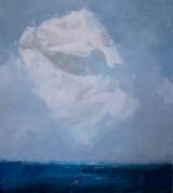"""<h5>A premonition</h5><p>Oil on canvas, 80"""" x 72"""" (203 x 183 cm)</p>"""