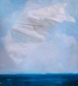 "<h5>A prediction</h5><p>Oil on Canvas, 66"" x 62"" ( 168 x 157 cm)</p>"