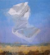 "<h5>A Message no. 6</h5><p>Oil on canvas, 80"" x 72"" in (203 x 182 cm)</p>"