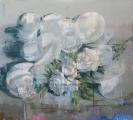 """<h5>Anniversary no. 9</h5><p>Oil on canvas, 65"""" x 72"""" (165 x 183 cm)</p>"""