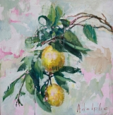 """<h5>Limoncello no. 2</h5><p>Oil on canvas, 21"""" x 20¼"""" ( 53 x 51 cm)</p>"""