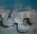 """<h5>Anniversary no. 16</h5><p>Oil on canvas, 73"""" x 80"""" (185 x 203cm)</p>"""