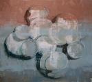 """<h5>Anniversary no. 15</h5><p>Oil on canvas, 73"""" x 80"""" (185 x 203cm)</p>"""