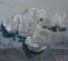"""<h5>Anniversary no. 8</h5><p>Oil on canvas, 65"""" x 72"""", (165 x 183cm)</p>"""