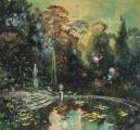 """<h5>Palermonirique</h5><p>Acrylic, marble powder, and pure pigment on canvas, 47¼ x 51¼"""" (120 x 130cm)</p>"""