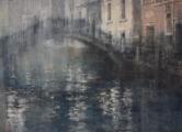 """<h5>Venice Mist</h5><p>Watercolor on Arches paper, 45"""" x 62"""" (114 x 157cm)</p>"""