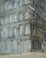 "<h5>Broadway</h5><p>Oil on canvas, 40"" x 32"" (102 x 81cm)</p>"