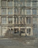 """<h5>West Broadway</h5><p>Oil on canvas, 40"""" x 32"""" (102 x 81cm)</p>"""