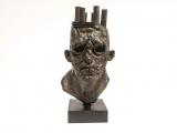 "<h5>Hollow King</h5><p>Bronze, 27½"" x 14½"" x 14"" (70 x 37 x 36cm) ( including base)</p>"