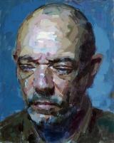 """<h5>Autoportrait 2031</h5><p>Oil on Canvas, 36¼"""" x 28¾"""" ( 92 x 73cm)</p>"""