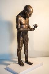 "<h5>Petal Repairer</h5><p>Bronze Resin, 24"" x 11"" x 8½"" (61 x 27.9 x  21.6cm)</p>"