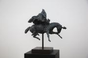 """<h5>Pegasus</h5><p>Bronze, 24½"""" x 23½"""" x 12½"""" ( 62.2 x 59.7 x 31.8cm)</p>"""