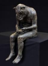 "<h5>Reading Minotaur</h5><p>Bronze, 28¾"" x 15¾"" x 18½"" (73 x 30 x 47cm)</p>"