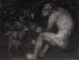 """<h5>Forest of Solitude and Hope</h5><p>Charcoal on Paper, 46"""" x 57"""" (117 x 145cm)</p>"""