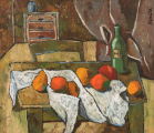"""<h5>Still Life with Fruits</h5><p>Oil on board, 32¼"""" x 27½"""" (82 x 70cm)</p>"""