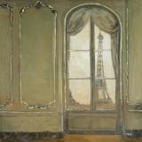 """<h5>Eiffel Tower</h5><p>Oil on linen, 10"""" x 10"""" (25 x 25cm)</p>"""